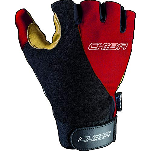 Chiba Rollstuhl-Handschuhe Argon Kids Kinder, Rot, XXXXS