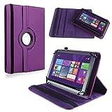 NAUC Tablet Hülle für Haier Pad 971 Tablet Tasche Schutzhülle Universal Bag Etui, Farben:Lila
