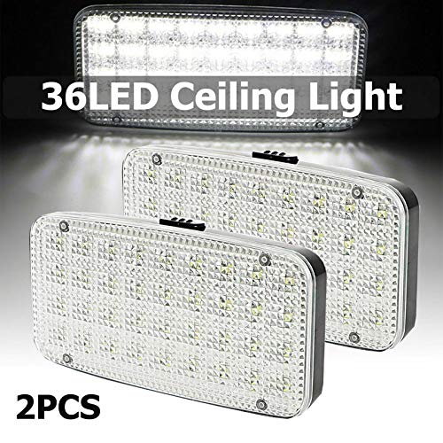 READY - Plafón de techo LED de 12 V-24 V con interruptor...