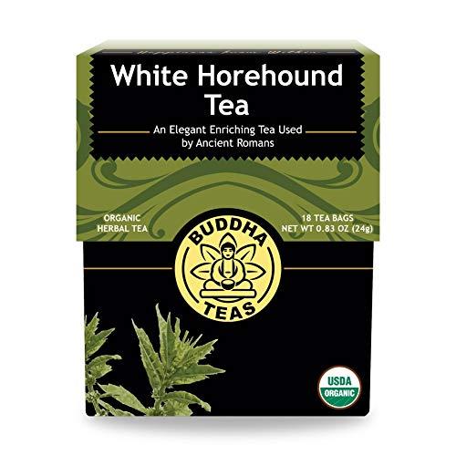 Buddha Teas Organic White Horehound Tea | 18 Tea Bags