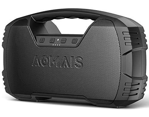 AOMAIS 25W Waterproof Stereo Pairing Bluetooth Speaker $36.40