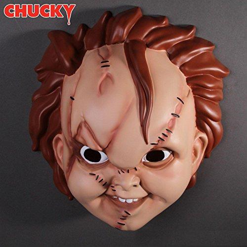 Close Up Child's Plays Chucky Maske für Erwachsene in Universalgröße aus Kunststoff