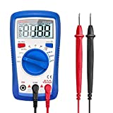 Etekcity Digital Multimeter, Auto-Ranging Voltage Tester Volt Ohm Amp Meter with Continuity, Diode, Capacitance and Resistance Test, Blue, MSR-A600