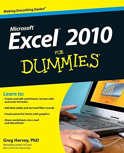 Excel 2010 For Dummies r product image
