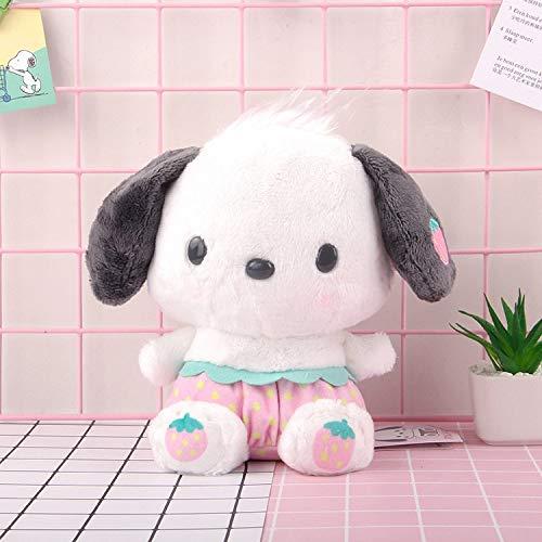 CZJMCT-DQ Peluche Juguete Colgante muñeca Almohada Juguete Suave Llavero Anillo CZJMCT-DQ (Color : PC Dog, Height : 25cm)