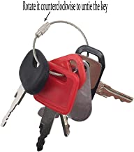 6 Keys Ignition Key Set Construction Equipment Key Set for John Deere Models
