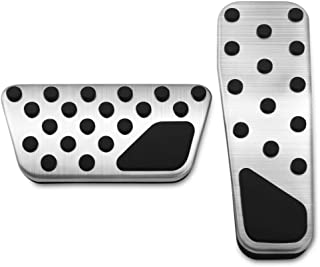 Thie2e Foot Pedal Pads Auto Brake Pedal Pad kit Fit for Dodge Charger Chrysler 300 Challenger 2008-2016