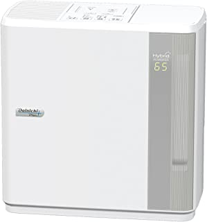 ダイニチ ハイブリッド式加湿器(木造和室8.5畳まで/プレハブ洋室14畳まで) HDシリーズ ホワイト HD-5016-W