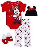 Disney Newborn Baby Girls' 4 Piece Clothing Set:...