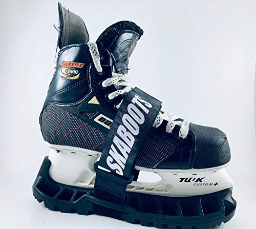 Skaboots Walkable Skate Guards - Small/Youth Black Skate Sizes 6-13 Youth Max Blade Length 8-1/4'
