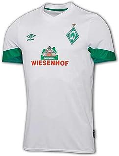 UMBRO Werder Bremen Auswärtstrikot 21 22 weiß SVW Away Shirt Fan Jersey