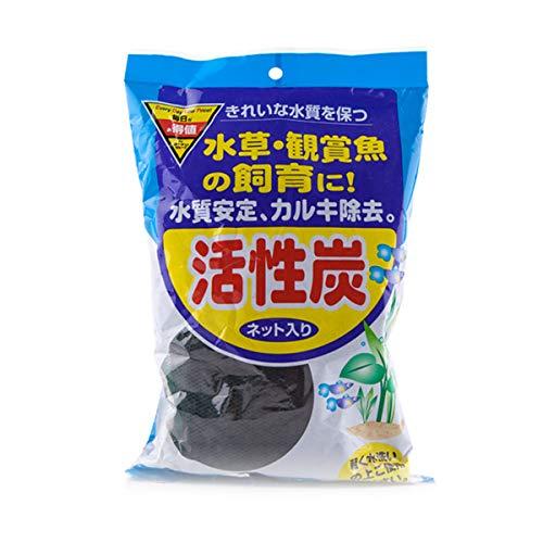 5 pcs 100 g/sac Charbon actif pour aquarium Filtre de bassin
