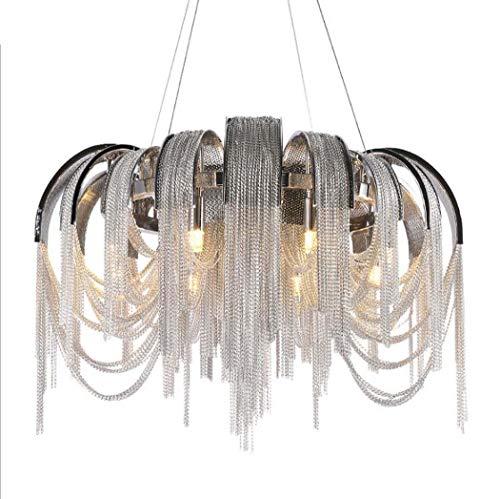 Lage prijs tafellamp bedlampje kristallen kroonluchters plafondlamp wandlamp LED kroonluchter, eenvoudig en creatief sfeervolle ketting franjes hanglamp, postmodern club ho 80 cm.