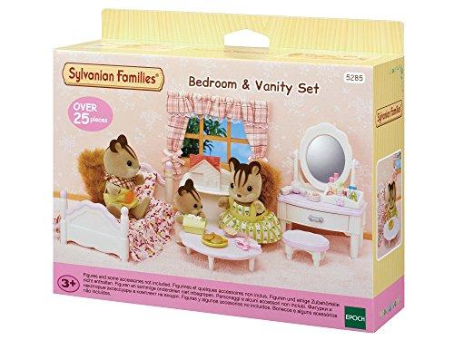Sylvanian Families - Le Village - Le Set Chambre Fille - 5285 - Meubles et Accessoires Poupée - Mini Poupées