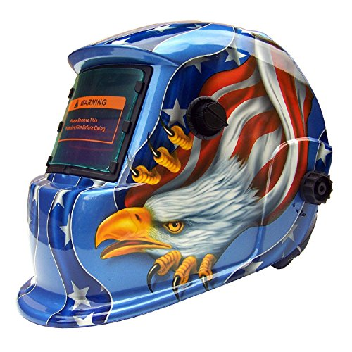 USA seller AEW Auto Darkening Solar Powered Welders Welding Helmet Mask With Grinding Function-will...