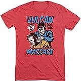 Star Trek Massage Mens Short Sleeve Shirt (Medium)