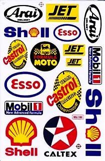 by soljo Sponsor Sponsors Sticker Tuning Racing Motocross Autocollant Feuille 27 x 18 cm TYPE324