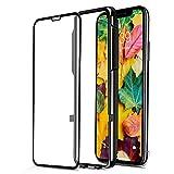 CellBee Curved - vollabdeckendes Premium iPhone-Panzerglas, Rundum-Schutzfunktion für die Vorderseite, 9H-Härtegrad, mit Anbringhilfe