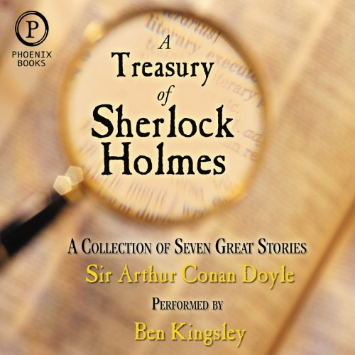 A Treasury of Sherlock Holmes cover art