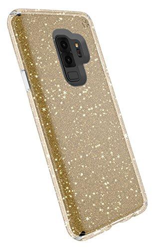 Speck 109515-5636 Presidio Clear+Glitter Funda para Samsung GS9+ - Transparente/Oro