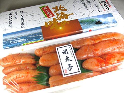 甘口プチプチ 辛子明太子 500g (化粧箱入り) (北海道根室加工辛子めんたいこ)