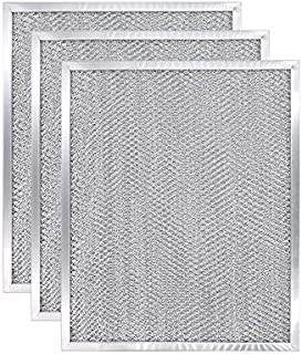 """AMI PARTS BPS1FA30 Ducted Aluminum Filter Series Range Hood Compatible with Broan 30"""" wide WS1 and QS1 11-3/4"""" X 14-1/4"""" X 3/8"""" -(3 Packs)"""