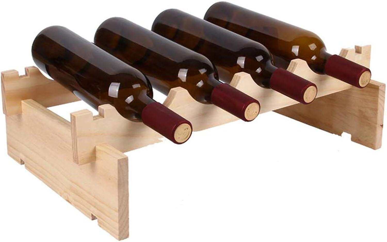 100% autentico MIAOLIDP Enrejado en la Parojo vinoteca decoración Vino Copa Titular Titular Titular Vino Estante Colgante Vino Estante vinoteca Restaurante Parojo Vino celosía (Tamao   1-Tier)  caliente