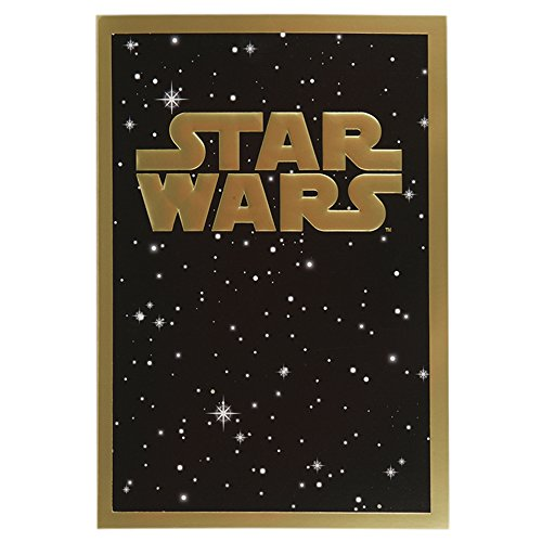 Hallmark Star Wars Verjaardagskaart 'May The Force Be With You' - Medium