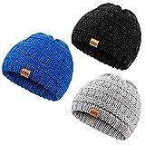 REDESS Baby Kids Winter Warm Hats, Infant Toddler Children Beanie Knit Cap Girls Boys