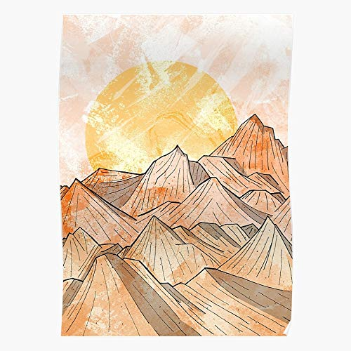 Dune Sand Dust Hills Texture Desert Wind Mountain Home Decor Wandkunst drucken Poster !