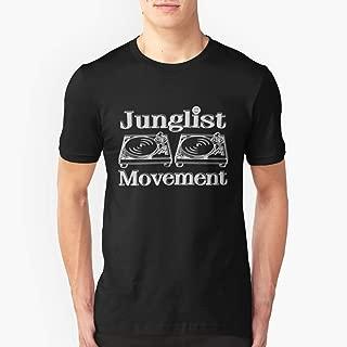 Junglist Movement Slim Fit TShirtT Shirt Premium, Tee shirt, Hoodie for Men, Women Unisex Full Size.