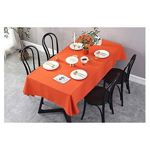 Nappe Rectangle - Nappe en Polyester Lavable Idéal pour Table de Buffet, Fêtes, Dîner de Fête, Mariage
