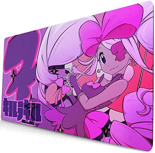 yongheng Kill La Kill Alfombrilla de ratón para ordenador portátil, gran escritorio, teclado Kill La Kill Alfombrilla de escritorio Anime Gaming Mouse pad 107 (90 x 40 cm)