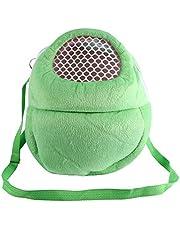 SolUptanisu Torba dla zwierząt domowych, nosidełko podróżne dla zwierząt domowych torba dla szczeniaka bez rąk torba na ramię dla szczeniaka chomik szczur jeż szynszyla fretka śpiąca na zewnątrz torba podróżna