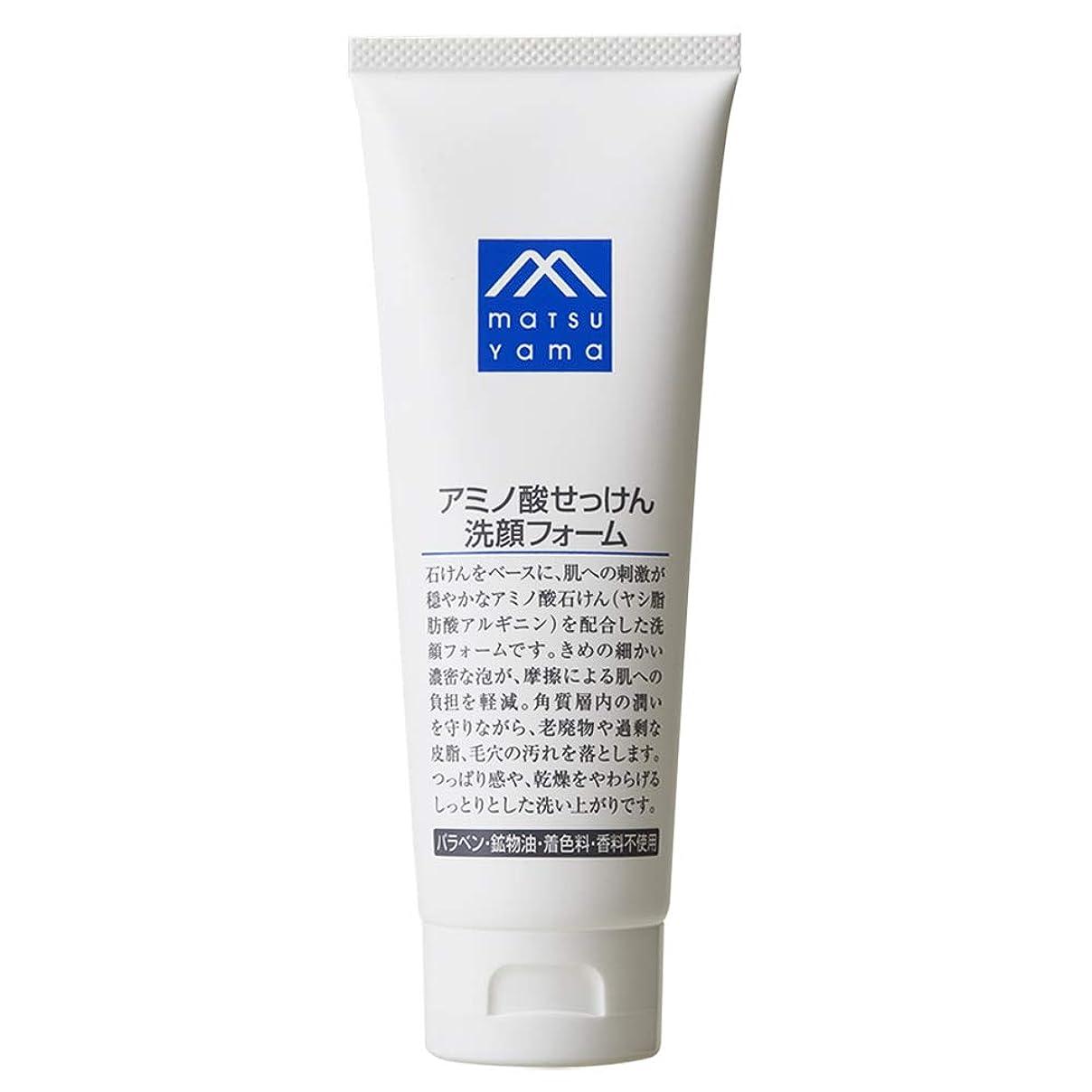 ばかげている指標救急車Mマーク(M-mark) アミノ酸せっけん洗顔フォーム 120g