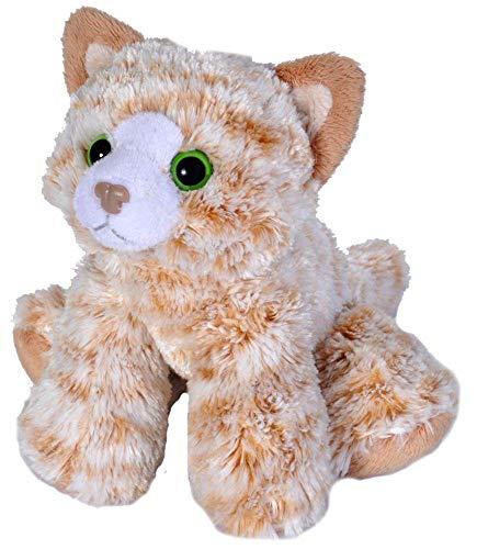 Wild Republic Hug'ems Plüschtier, Kuscheltier, Katze 18cm