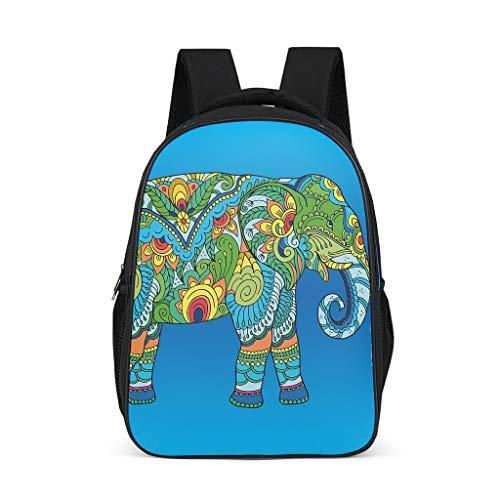Elephant Children's Shoulder Bag Classic Causal for Student Elephant grey onesize