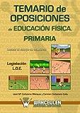 Acceso al cuerpo de maestros, oposiciones de educación física primaria, legislación L.O.E. Temario