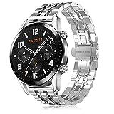 TOPsic Cinturino per Huawei Watch GT2 46mm/Galaxy Watch 3 45mm Braccialetto, 22mm Universale Cinturino per Gear S3 Frontier/Galaxy Watch 46mm/Gear 2 /Huawei Watch GT2 46mm/Watch GT 46mm/Moto 360