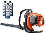 Husqvarna 560BTS 65cc Backpack Gas Leaf Blower with 3 Quarts of Fuel