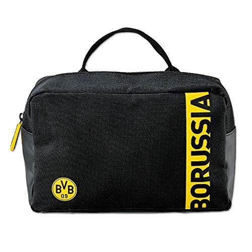 Borussia Dortmund, BVB-Kulturbeutel, Schwarz, 0