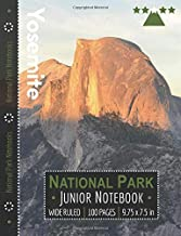 Yosemite National Park Junior Notebook: Wide Ruled Adventure Notebook for Kids and Junior Rangers