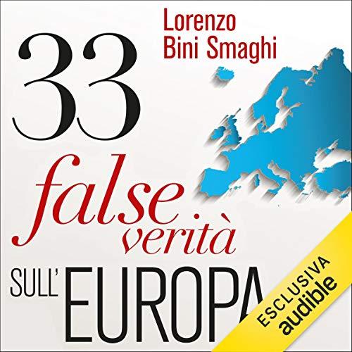 33 false verità sull'Europa copertina