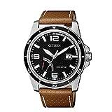 シチズン エコ ドライブ時計 シチズンコレクション 黒 AW7035-11E