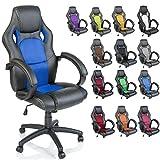 TRESKO Racing Silla de oficina silla de escritorio silla de ordenador silla giratoria disponible en...