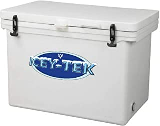 ICEY-TEK Classic 100 Quart Cooler - Cube Style Ice Chest