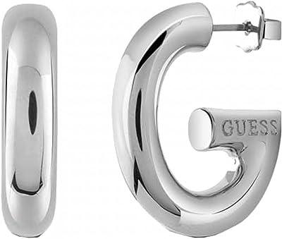 Guess Women Silver Statement Earrings UBE83012