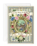 Alice in Wonderland Birthday Card Party Unbirthday Mad Hatter Tea Party Thank You