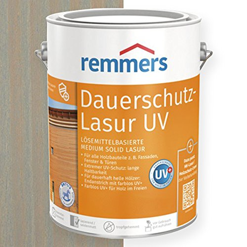 Remmers Dauerschutz-Lasur UV (5 l, silbergrau)