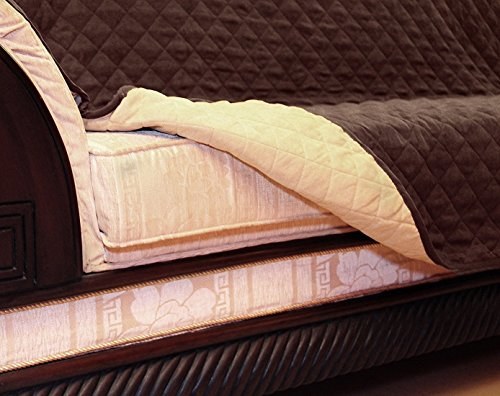 Reversible Sofa Cover - Sofa Slipcover - Stylish Furniture Protector Cover